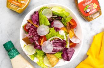 saladas pelo mundo